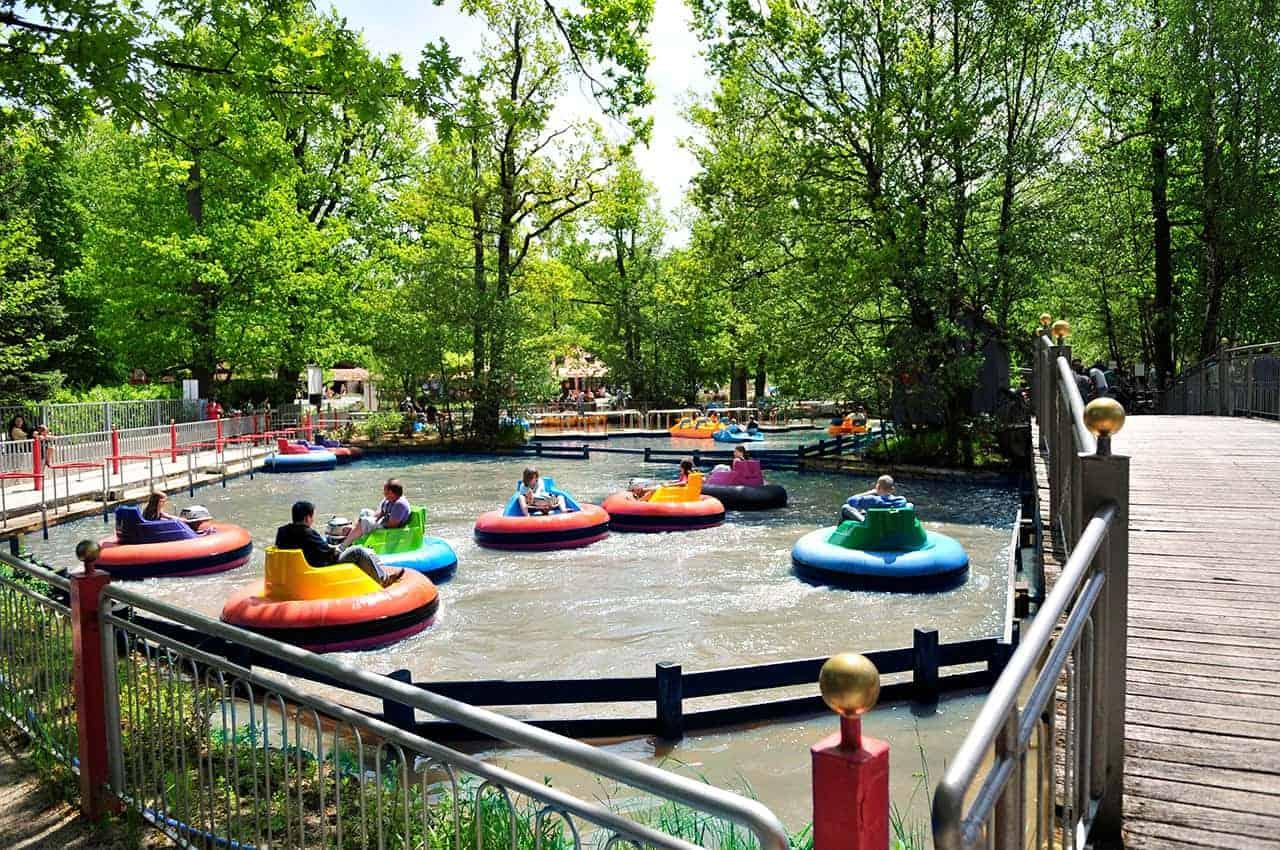 Bumperboot-Freizeitpark-schloss Thurn
