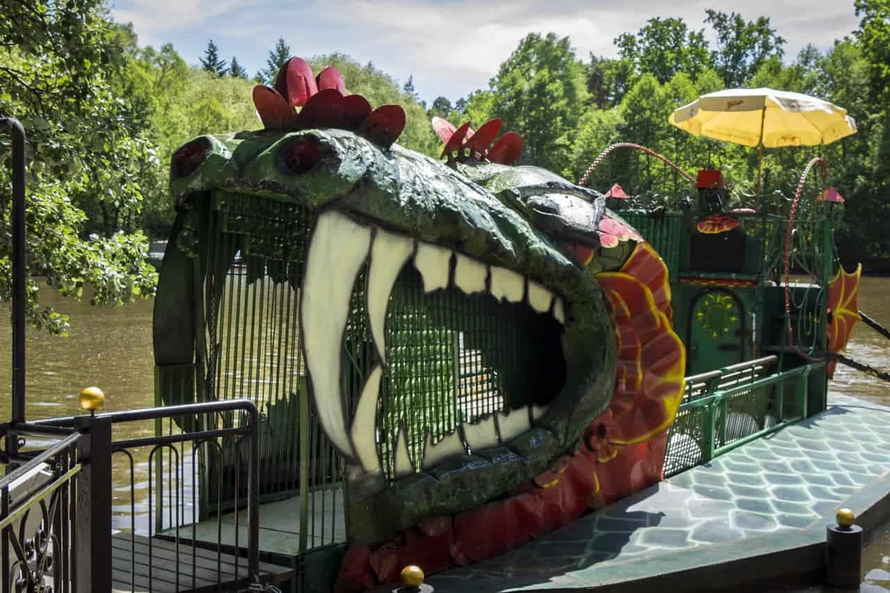 Drachenschiff-Freizeitpark