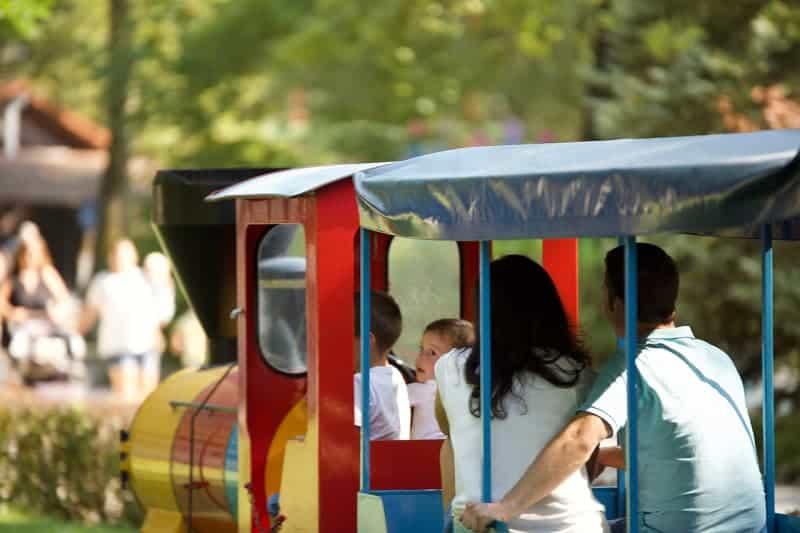 Kindereisenbahn-Freizeitpark