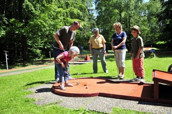 Minigolf-Freizeitpark