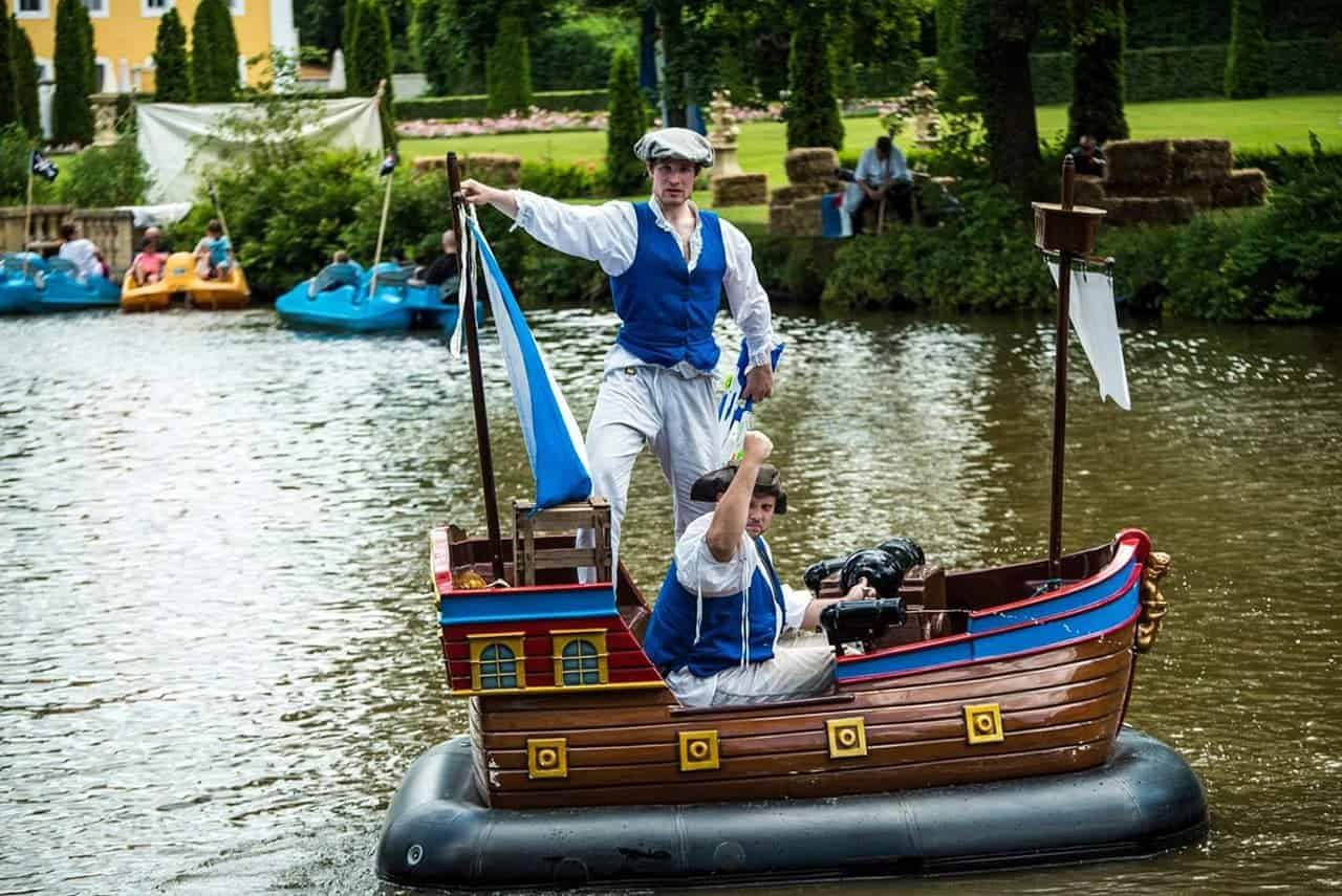 Piratenflotte-Freizeitpark