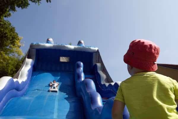 Riesenrutsche-Freizeitpark