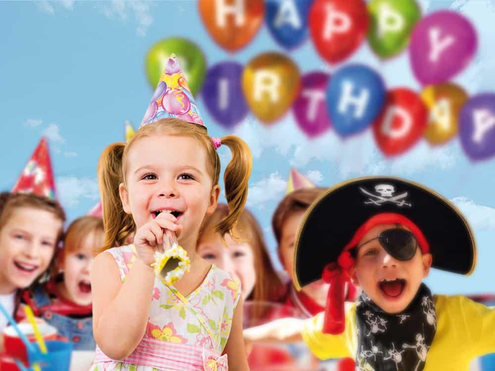 kindergeburtstag party im freizeitpark