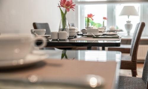 frühstücks zimmer hotel plaza in forchheim